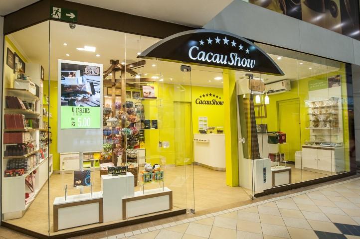 32199fb96 Loja Cacau Show do Prataviera Shopping passa por revitalização ...
